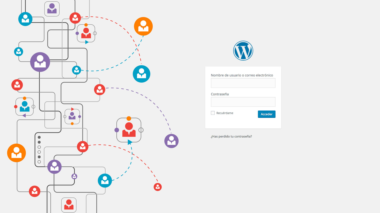 Modificar contraseña WordPress
